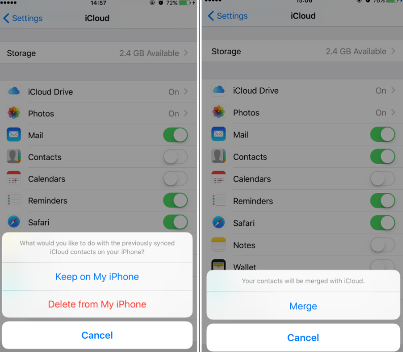 3 Ways to Restore Contacts from iCloud