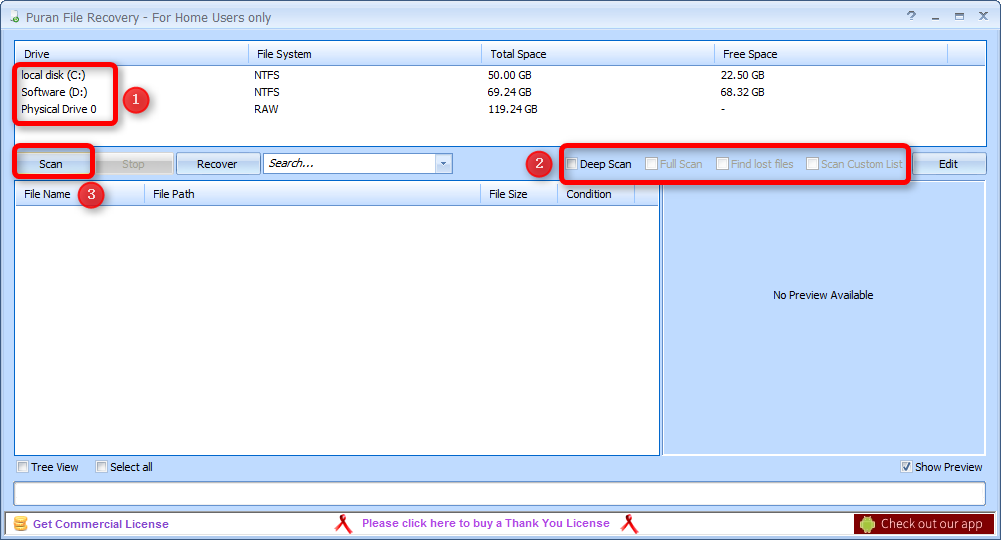 How to Get Deleted Files Back from USB or Hard Drive